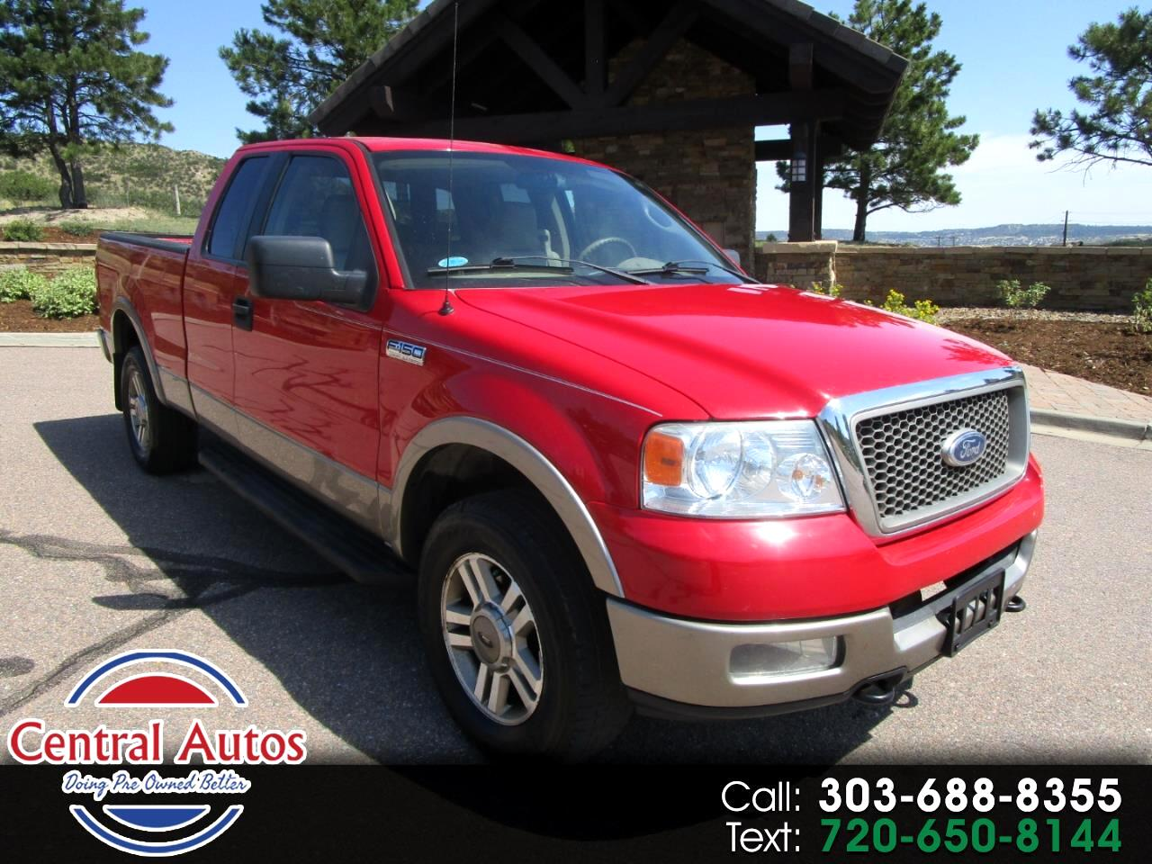 """2005 Ford F-150 Supercab 145"""" Lariat 4WD"""