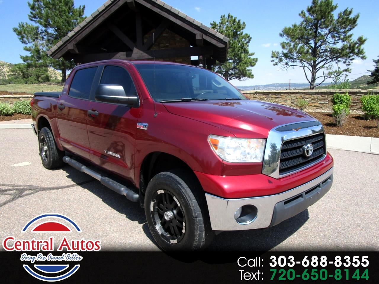 """2007 Toyota Tundra 4WD CrewMax 145.7"""" 5.7L SR5 (Natl)"""