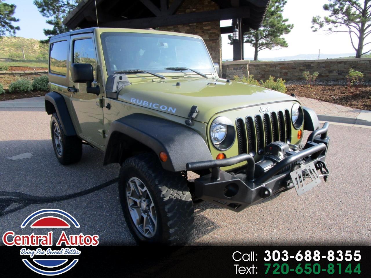 Jeep Wrangler 4WD 2dr Rubicon 2013