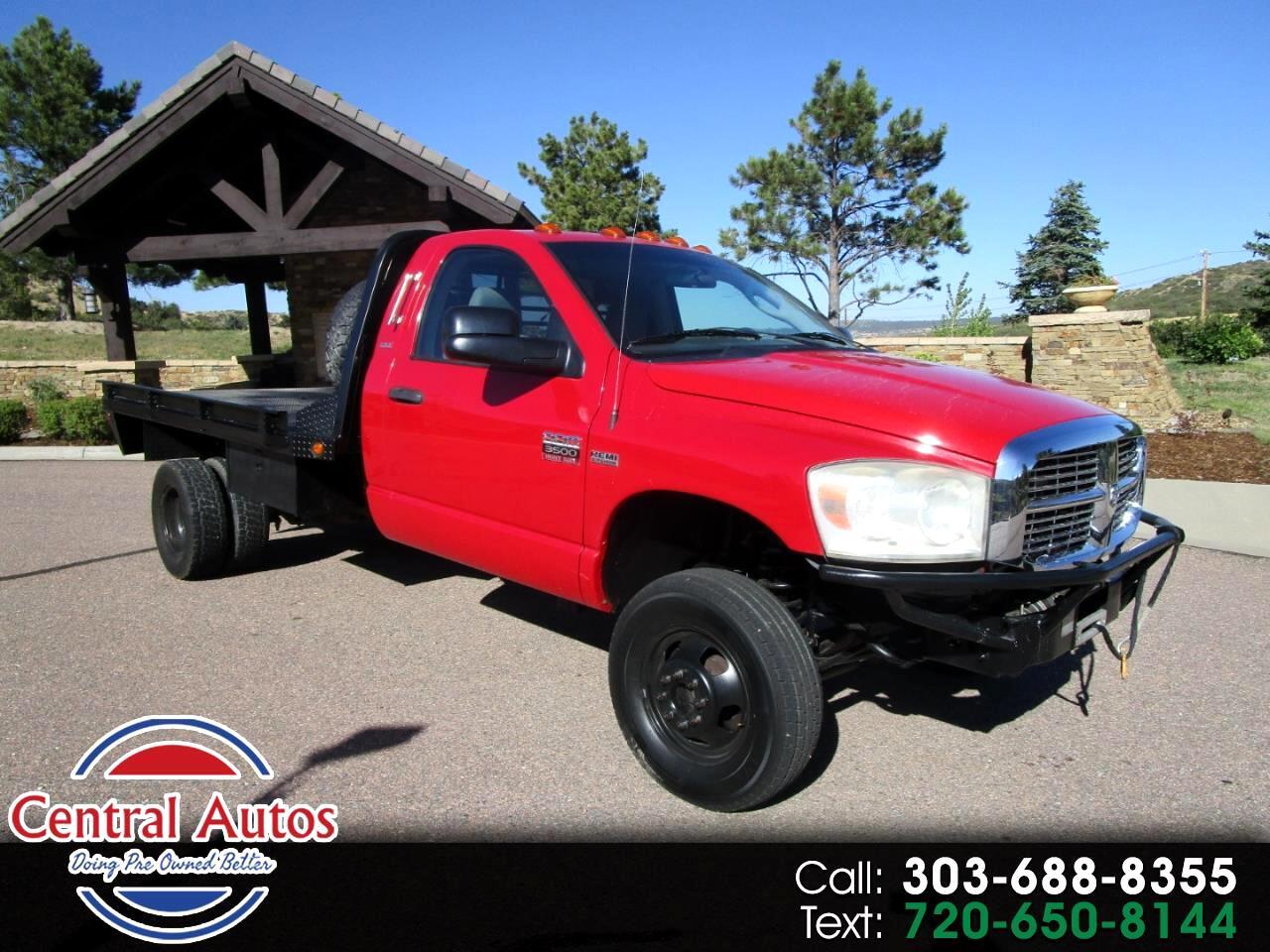 "2007 Dodge Ram 3500 4WD Reg Cab 84"" CA 167.5"" WB"