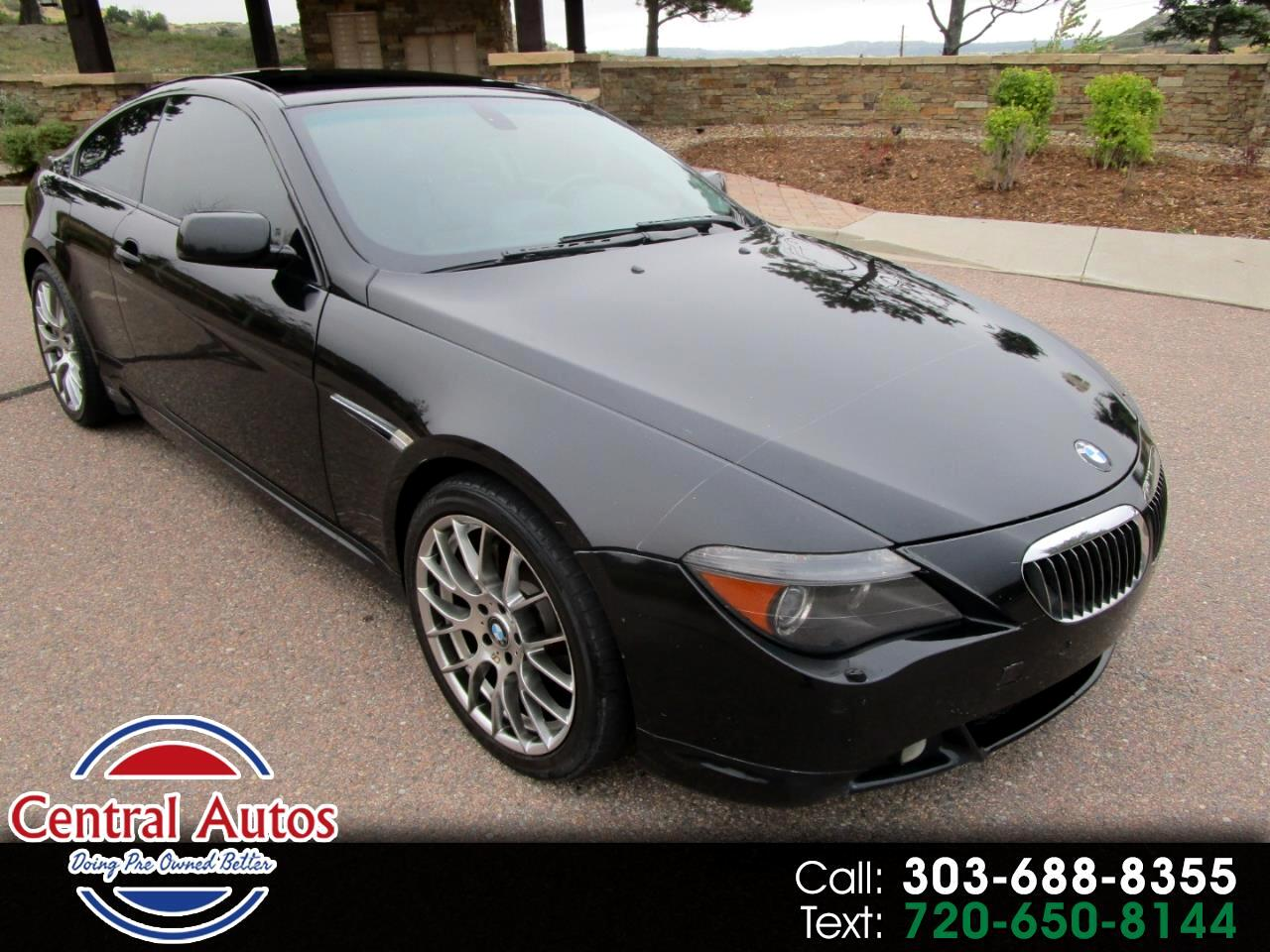 2007 BMW 6 Series 2dr Cpe 650i
