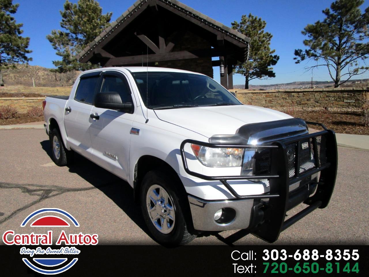 Toyota Tundra 4WD Truck CrewMax 5.7L FFV V8 6-Spd AT (Natl) 2011