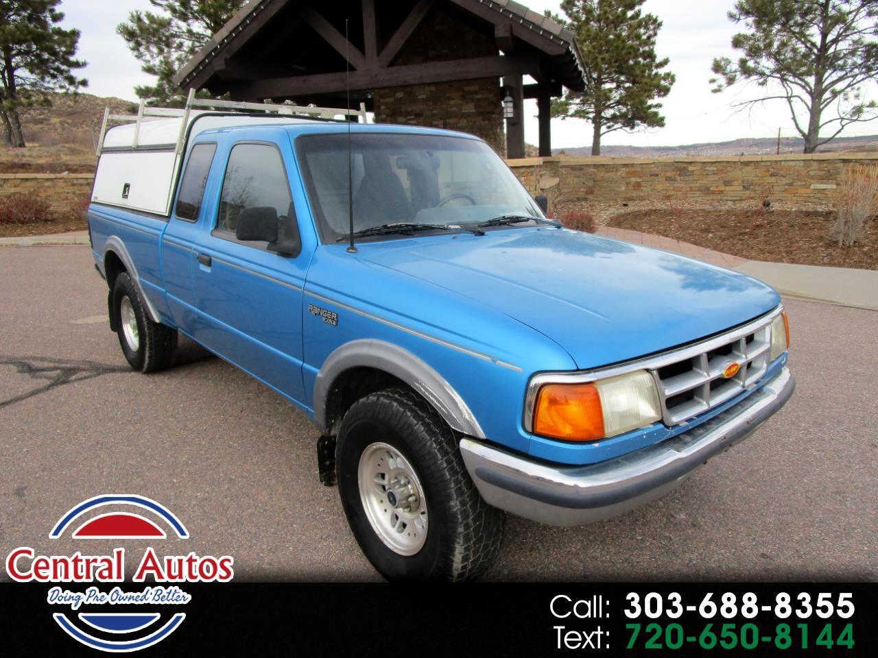 "Ford Ranger Supercab 125"" WB Splash 4WD 1994"