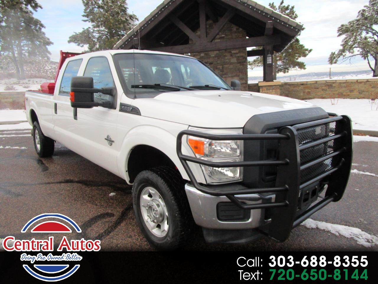 "Ford Super Duty F-350 SRW 4WD Crew Cab 156"" XL 2014"