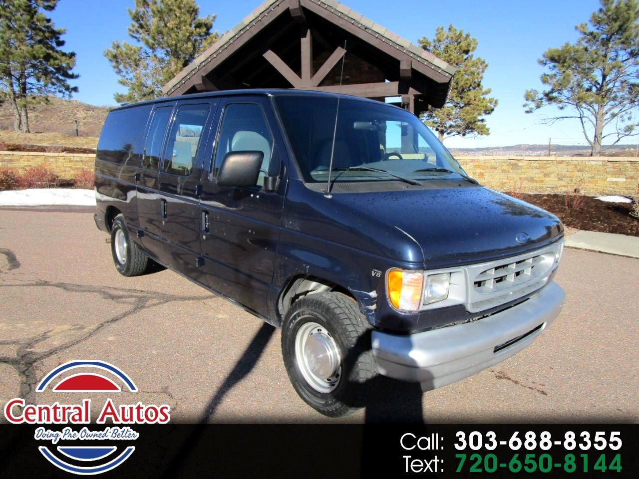 Ford Econoline Cargo Van E-150 2001