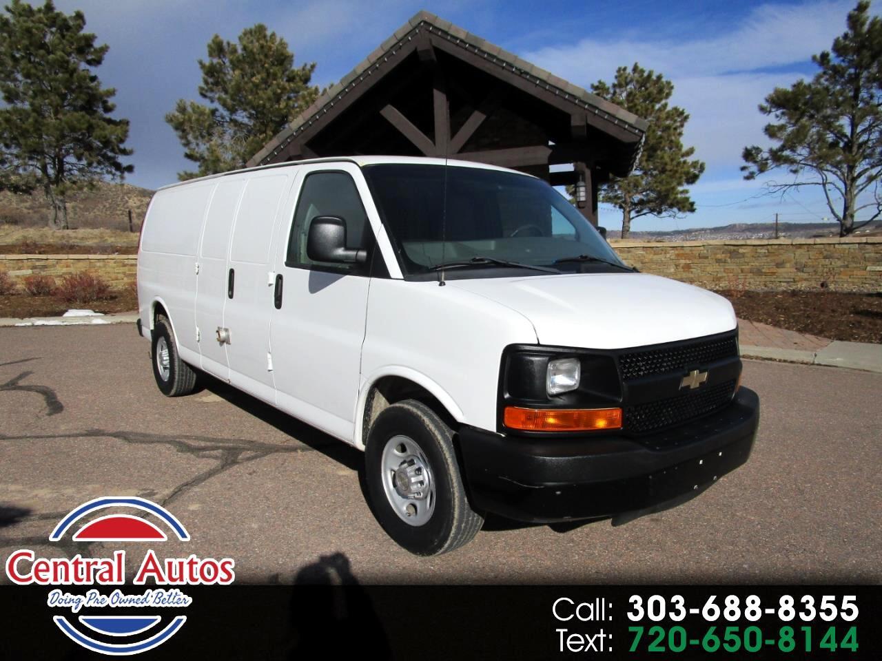 """Chevrolet Express Cargo Van RWD 3500 155"""" 2012"""