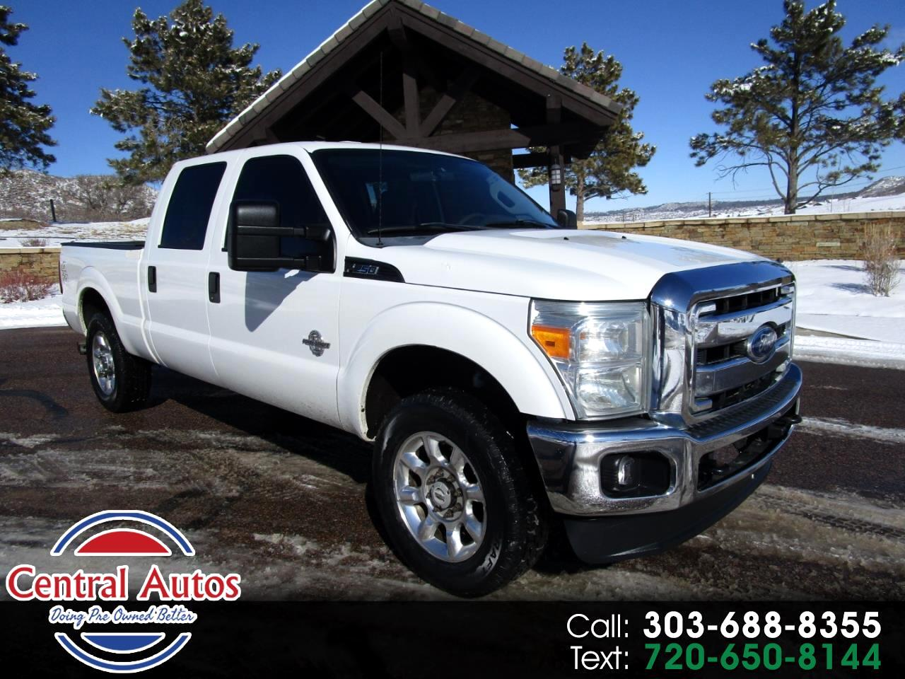 "Ford Super Duty F-250 SRW 4WD Crew Cab 156"" XL 2011"
