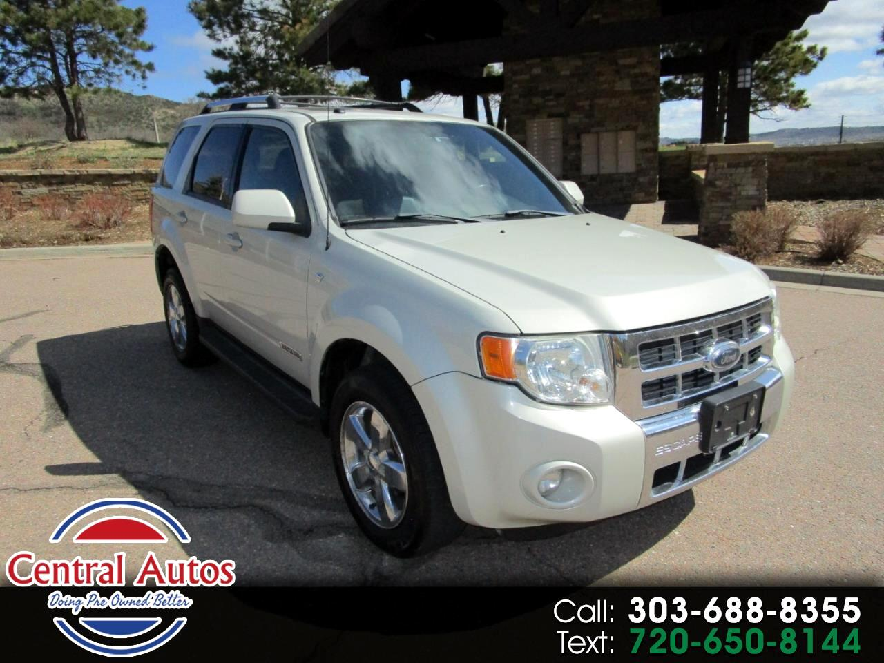 Ford Escape 4WD 4dr V6 Auto Limited 2008