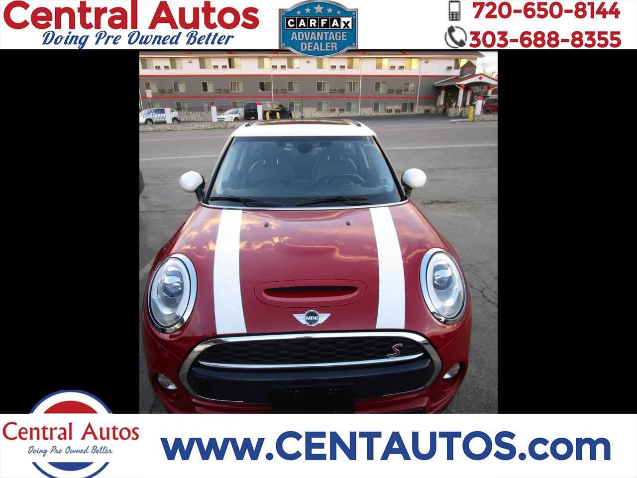 MINI Cooper Hardtop 4 Door 4dr HB S 2016