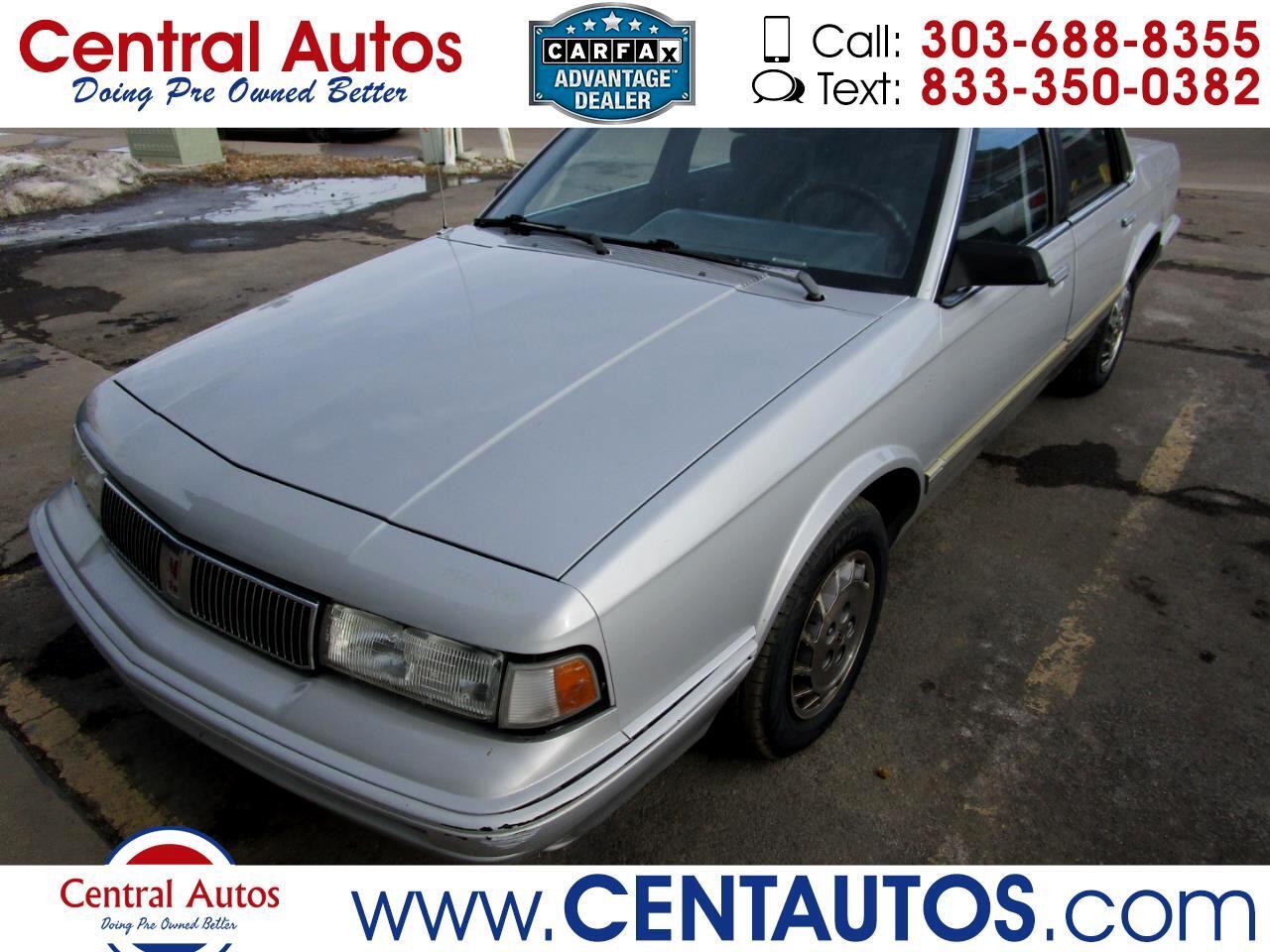 Oldsmobile Cutlass Ciera/Cruiser 4dr Sedan Special Edition R7C 1994