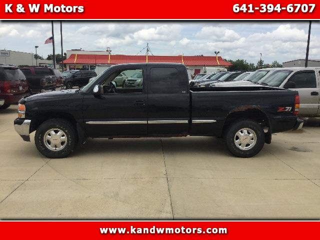 1999 GMC Sierra 1500 SLE Ext. Cab Short Bed 4WD