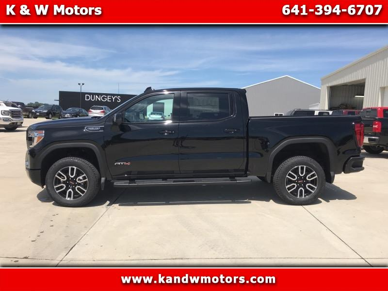 "2019 GMC Sierra 1500 4WD Crew Cab 147"" AT4"