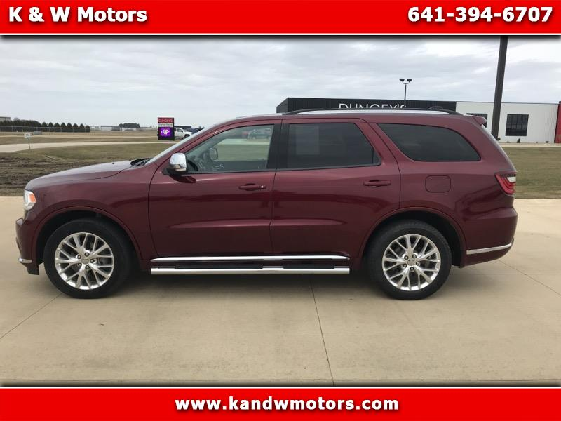 Dodge Durango AWD 4dr Limited 2016