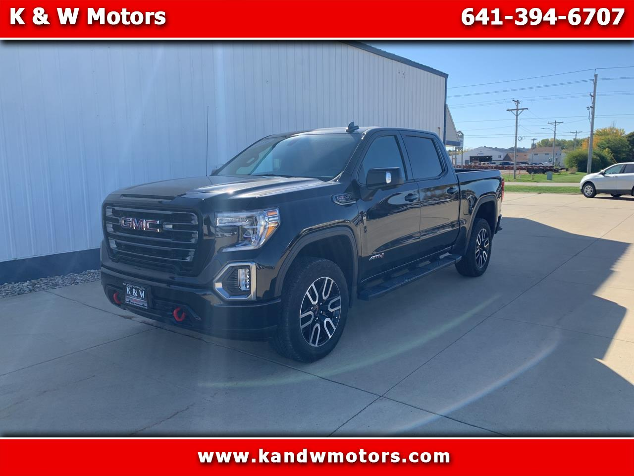 "GMC Sierra 1500 4WD Crew Cab 147"" AT4 2019"
