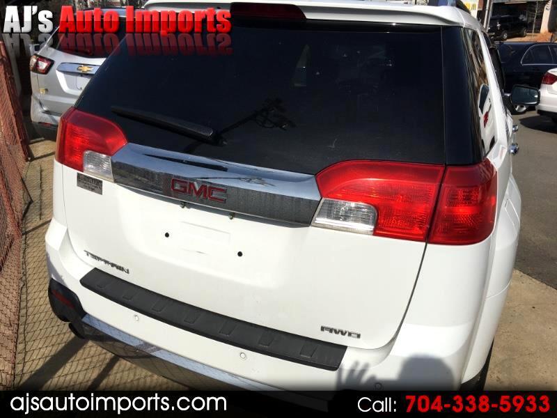 GMC Terrain SLT2 AWD 2012