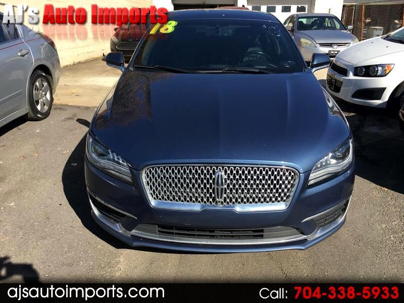 Lincoln MKZ Hybrid Select 2018
