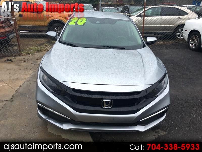 Honda Civic LX Honda Sensing Sedan CVT 2020