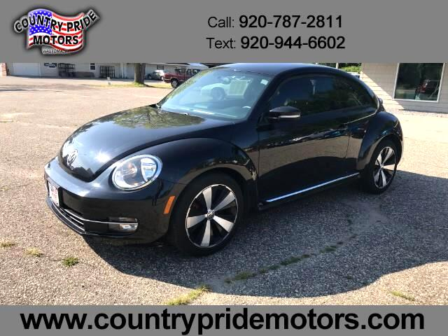 2012 Volkswagen Beetle 2dr Cpe Man 2.0T Turbo PZEV