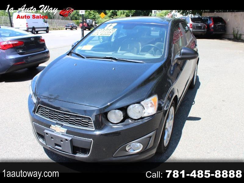Chevrolet Sonic 2LTZ Sedan 2012