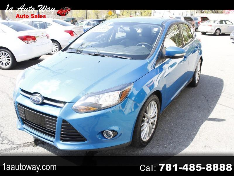 Ford Focus Titanium Hatch 2013