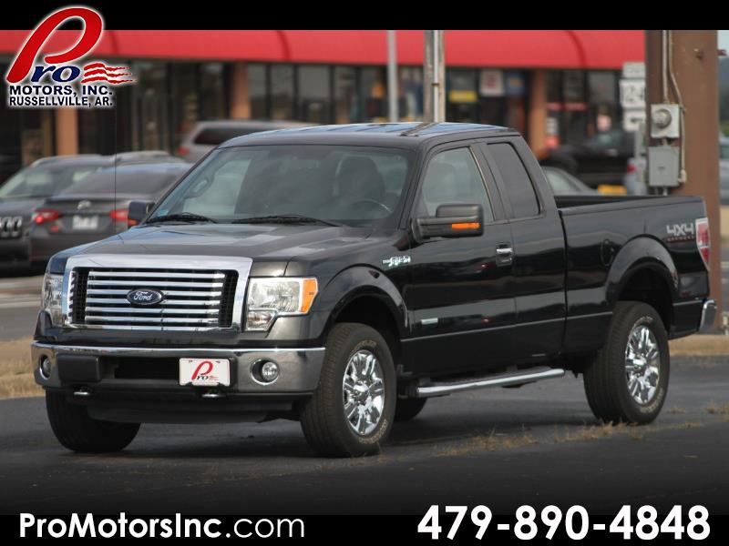 "2012 Ford F-150 4WD SuperCab 133"" XLT"