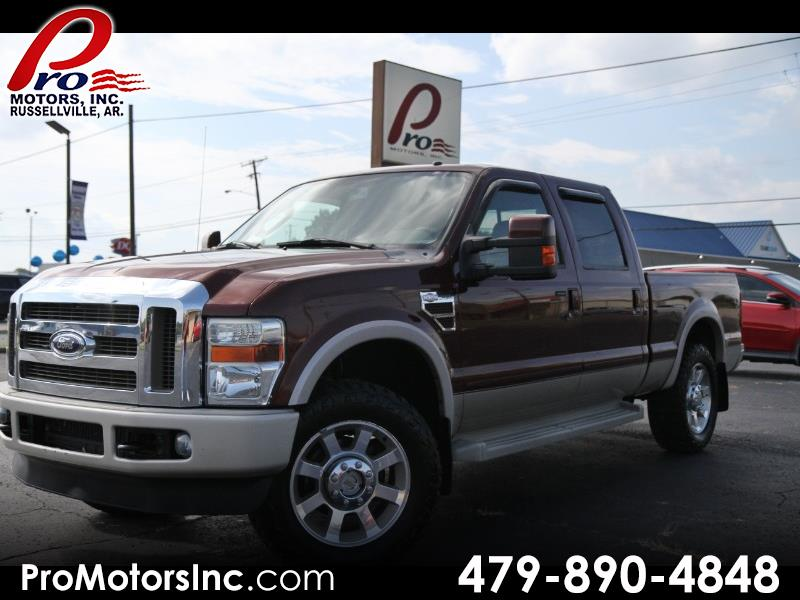 2008 Ford F-250 SD King Ranch Crew Cab SW 4X4