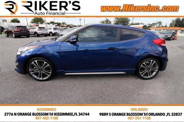 2017 Hyundai Veloster Turbo R-Spec w/Red Interior 6M
