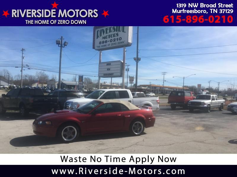 2001 Ford Mustang GT Deluxe Convertible