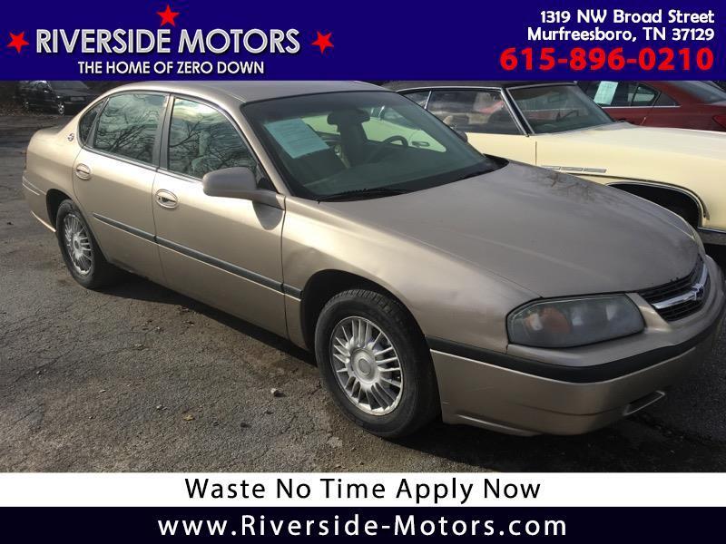 Chevrolet Impala Base 2001