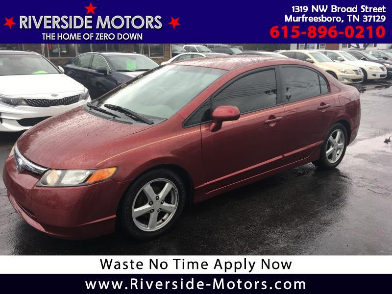 Honda Murfreesboro Tn >> Used 2008 Honda Civic For Sale In Murfreesboro Tn 37129