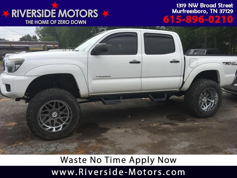 Toyota Tacoma Double Cab V6 Manual 4WD 2014