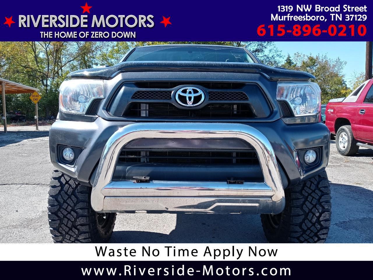 Toyota Tacoma 4WD Double Cab V6 AT (Natl) 2013