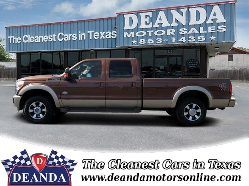 2011 Ford F-250 SD King Ranch Crew Cab Long Bed 4WD