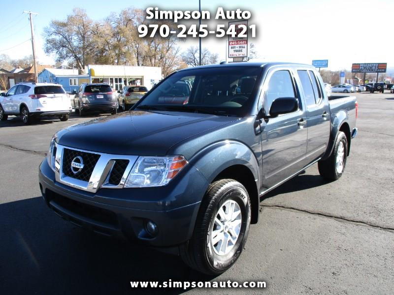 2017 Nissan Frontier 4WD SV CREW CAB 4WD