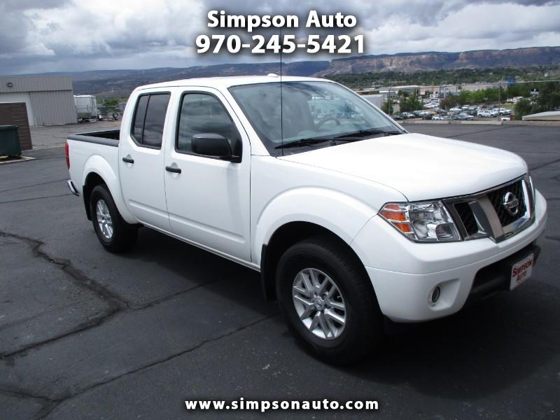 2016 Nissan Frontier SV-4X Crew Cab 5AT