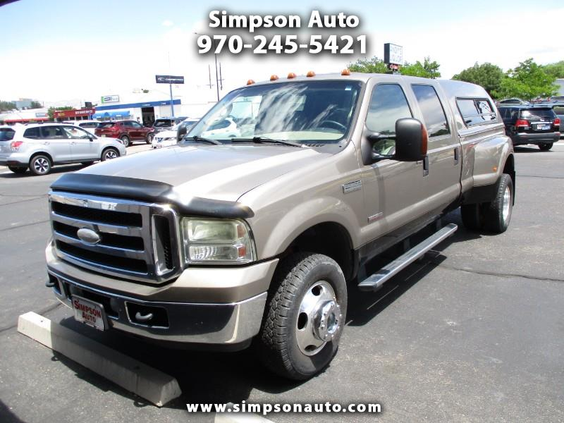 2005 Ford F-350 SD Lariat Crew Cab Long Bed 4WD DRW