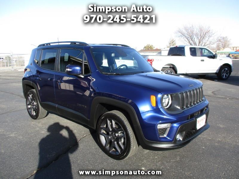 Jeep Renegade Limited 4WD 2019