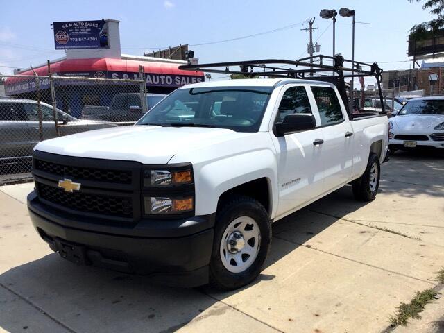 2014 Chevrolet Silverado 1500 Work Truck 1WT Crew Cab 2WD