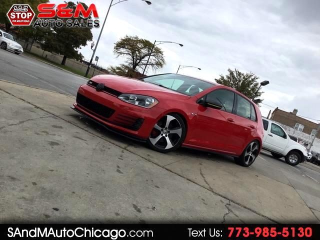 2016 Volkswagen Golf GTI 2.0T 4-Door SE Manual