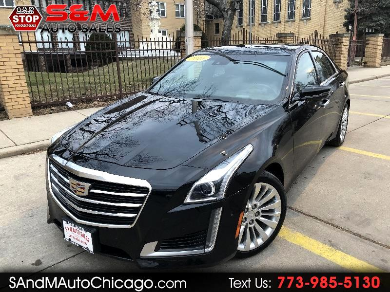 2016 Cadillac CTS Sedan 4dr Sdn 2.0L Turbo Performance Collection AWD