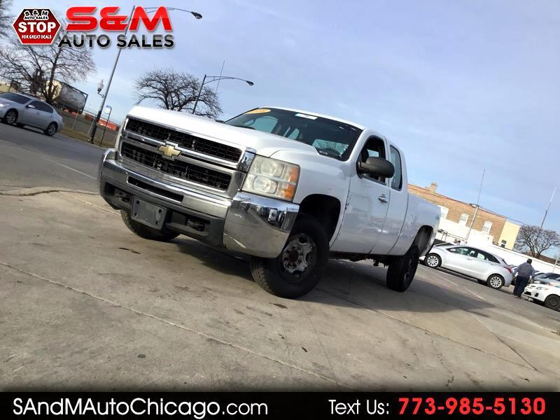 "2008 Chevrolet Silverado 2500HD 4WD Ext Cab 143.5"" Work Truck"