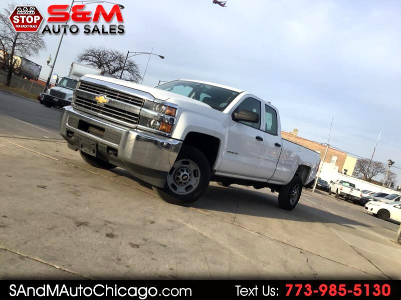 "2015 Chevrolet Silverado 2500HD 4WD Double Cab 158.1"" Work Truck"