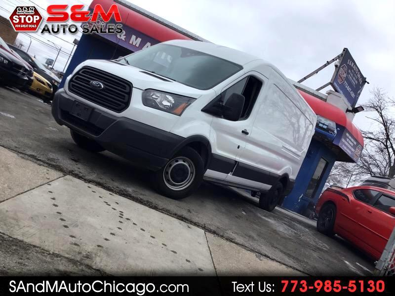 "2016 Ford Transit Cargo Van T-350 148"" Med Rf 9500 GVWR Sliding RH Dr"