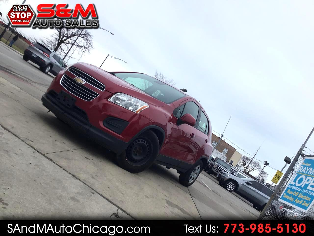 2015 Chevrolet Trax FWD 4dr LS w/1LS
