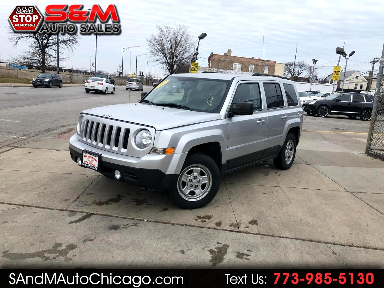 Jeep Patriot 4WD 4dr Sport 2012
