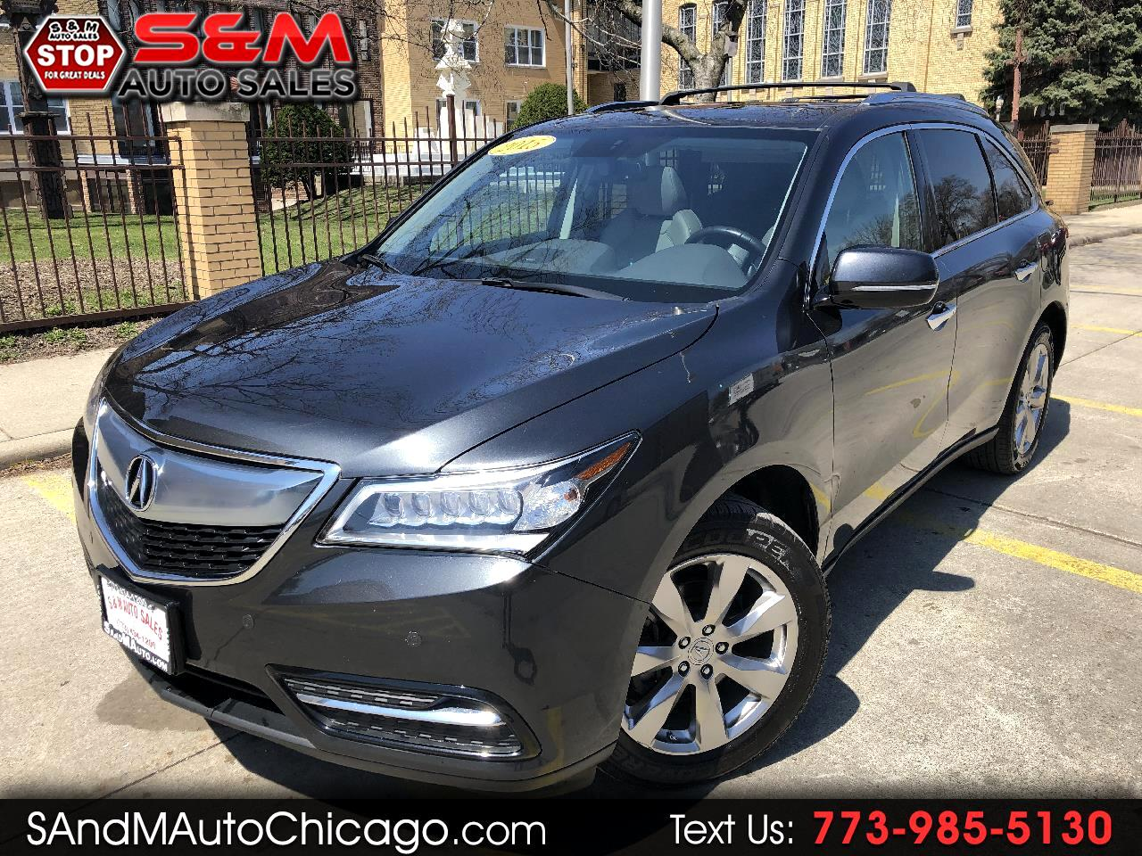 2015 Acura MDX SH-AWD 4dr Advance/Entertainment Pkg
