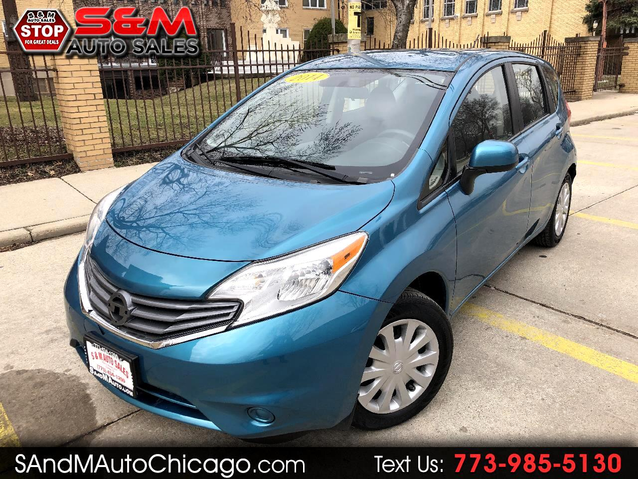 2014 Nissan Versa Note 5dr HB Manual 1.6 S