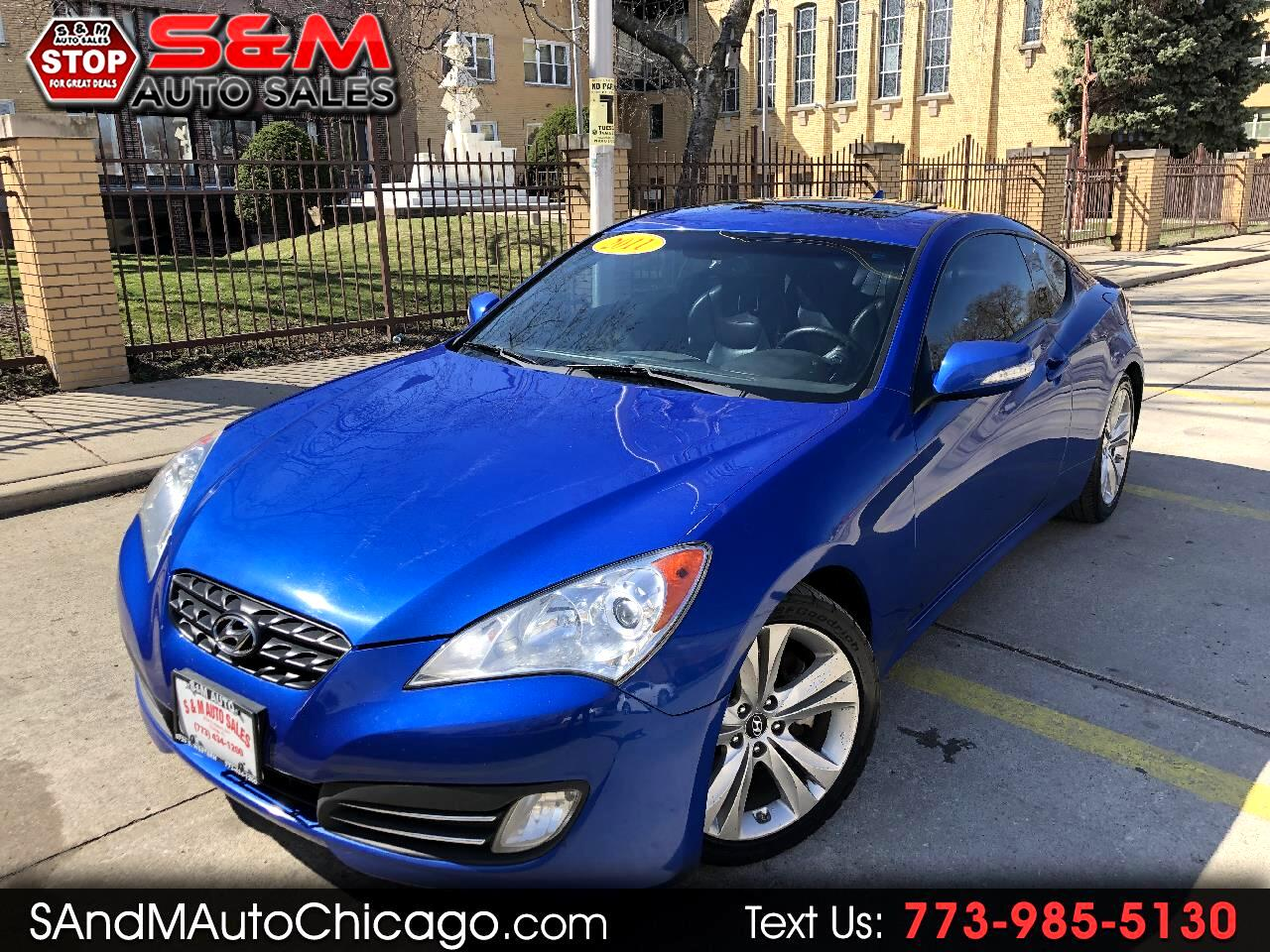2011 Hyundai Genesis Coupe 2dr 3.8L Auto Grand Touring w/Blk Lth