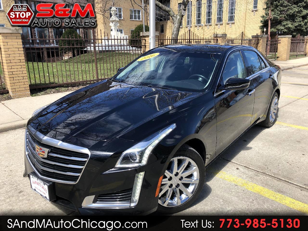 2016 Cadillac CTS Sedan 4dr Sdn 2.0L Turbo AWD