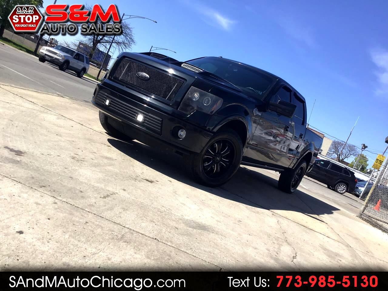 "2011 Ford F-150 AWD SuperCrew 145"" Harley-Davidson"